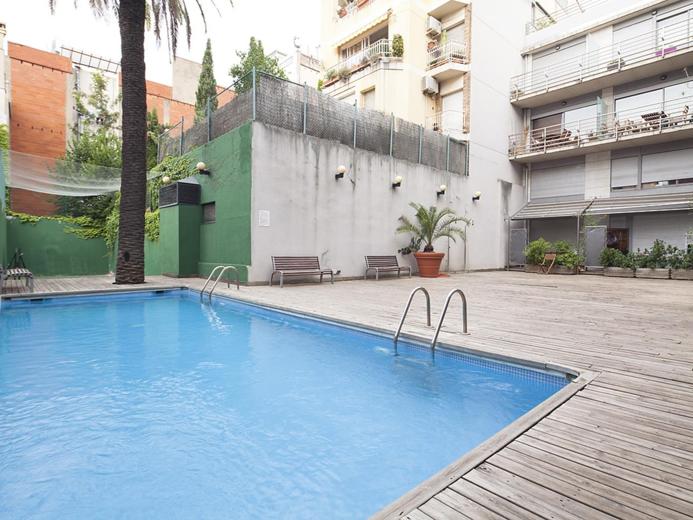 Putxet apartments with pool 35 I - My Space Barcelona Appartementen