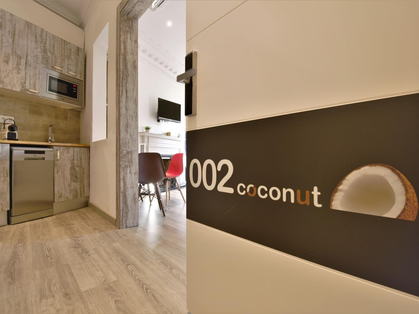 City Center Diagonal loft with beautiful views for 4 - My Space Barcelona Appartementen