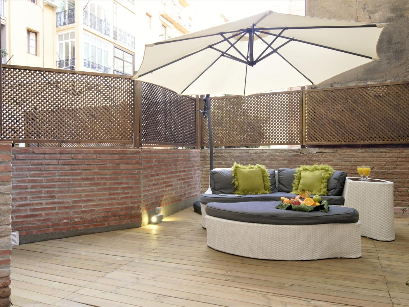 City Center Diagonal amazing apartment with private terrace for 4 - My Space Barcelona Appartementen