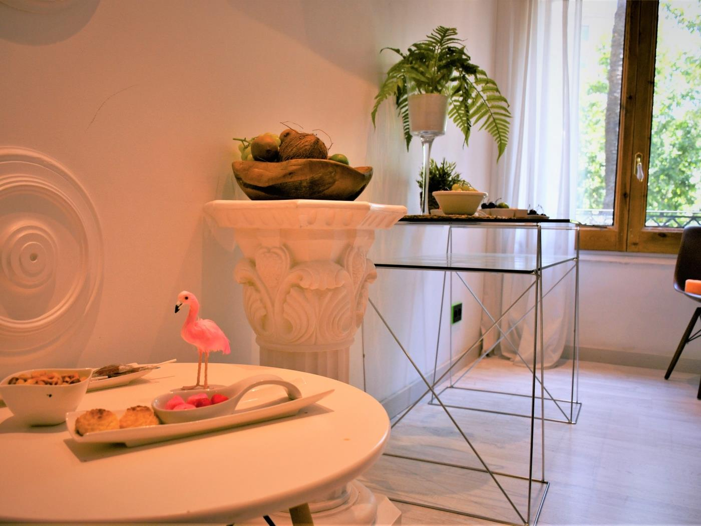 City Center Diagonal double room with private bathroom for 2 - My Space Barcelona Appartementen