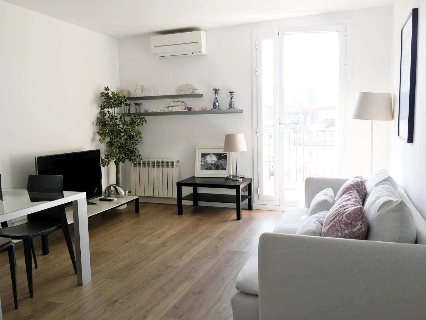 Penthouse with private terrace in Las Ramblas city centre in Barcelona for 4 - My Space Barcelona Appartementen