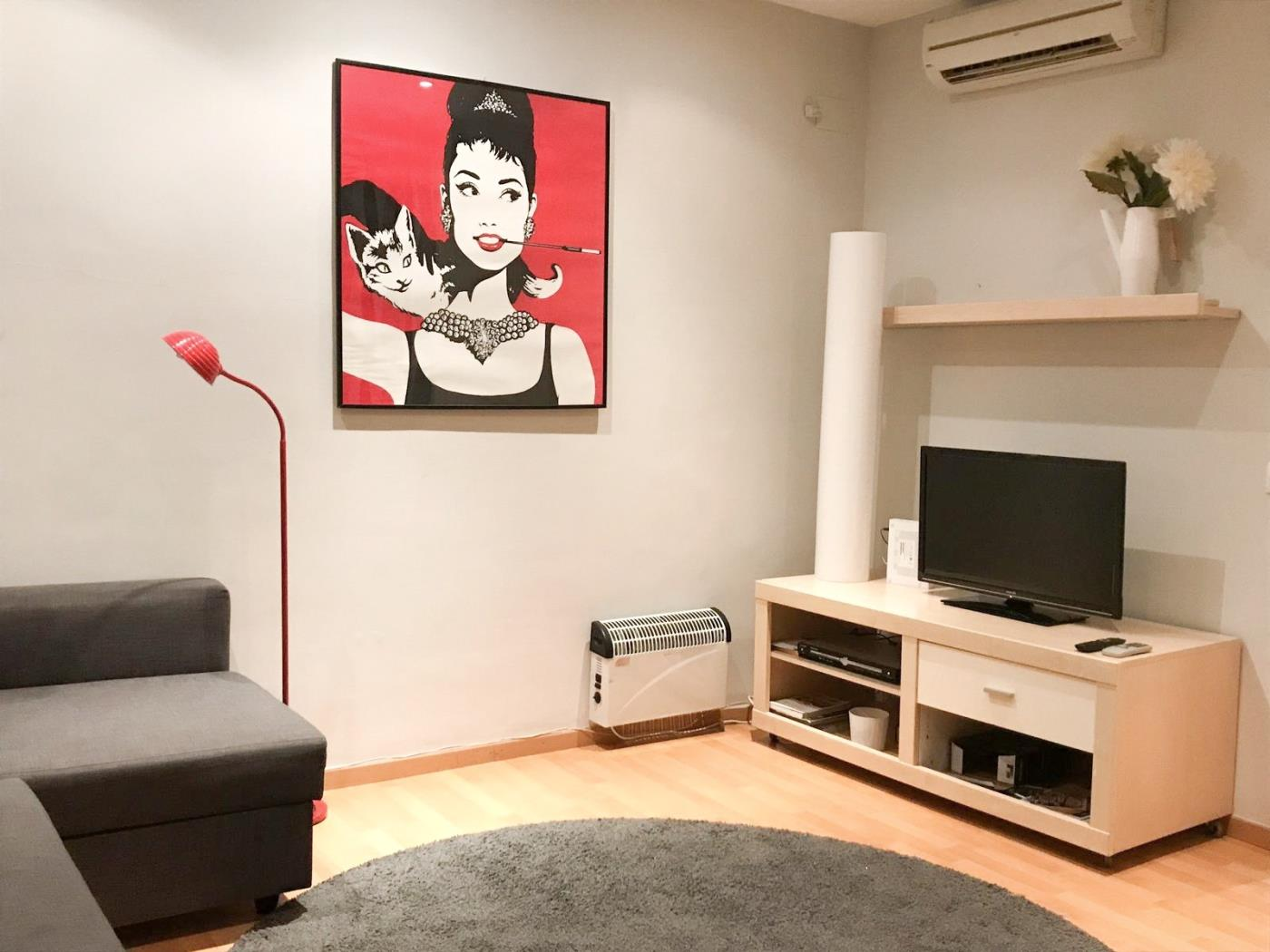 Comfortable apartment near Fira de Barcelona in the centre with balcony for 4 - My Space Barcelona Appartementen
