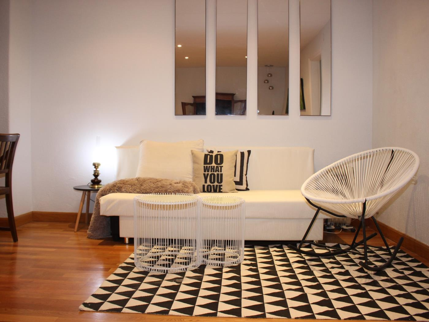 Cozy apartment for groups located in the city centre in the Sagrada Familia - My Space BARCELONA Appartementen